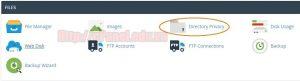 Hướng dẫn đặt mật khẩu cho thư mục web trên host cPanel  (Directory Privacy)