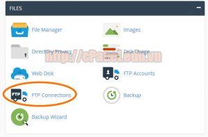 Hướng dẫn quản lý các kết nối FTP trên cPanel hosting