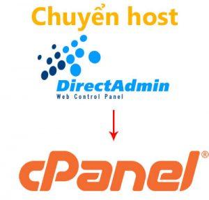 Cách chuyển toàn bộ website từ host Direct Admin sang host cPanel